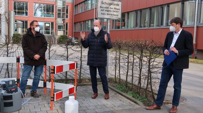 Landrat Sailer Bürgermeister Dr. Higl